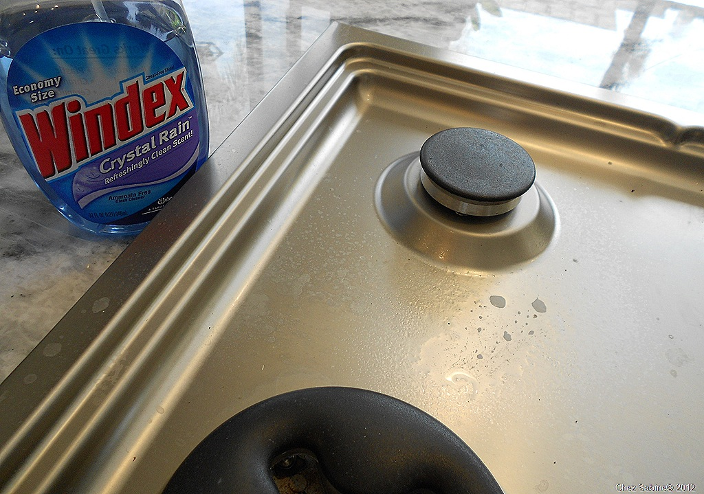 Best way to clean stainless steel stove top