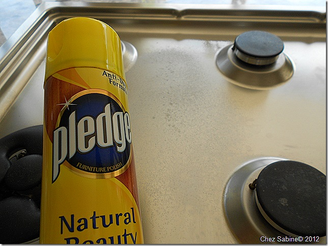 Clean That Stainless Steel Stove Top The Easy Breezy Way