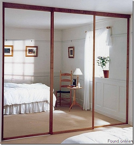 Mirrored-Sliding-Closet-Doors