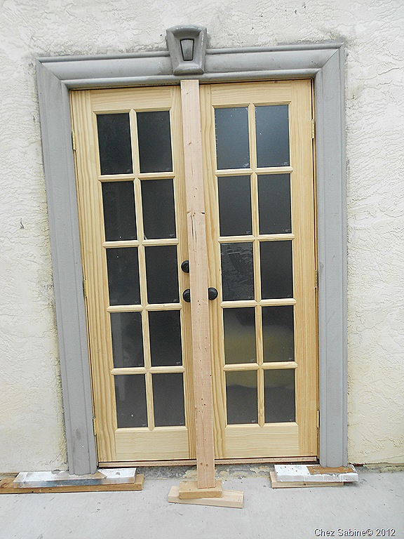 French doors exterior framing french doors exterior for Narrow exterior french doors