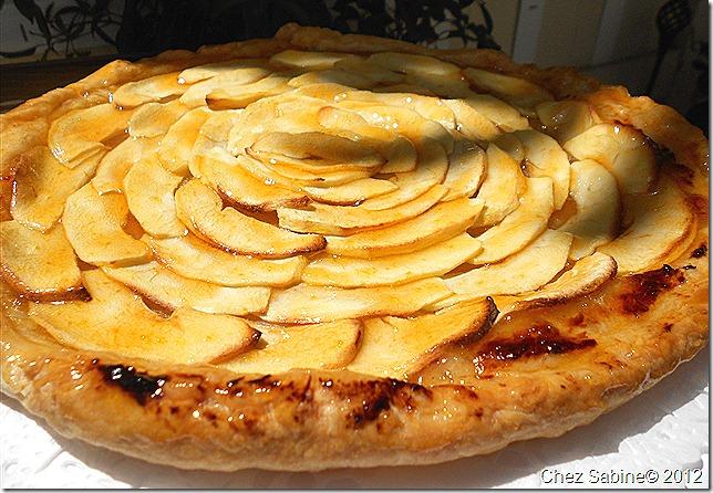 French Apple Tart 077