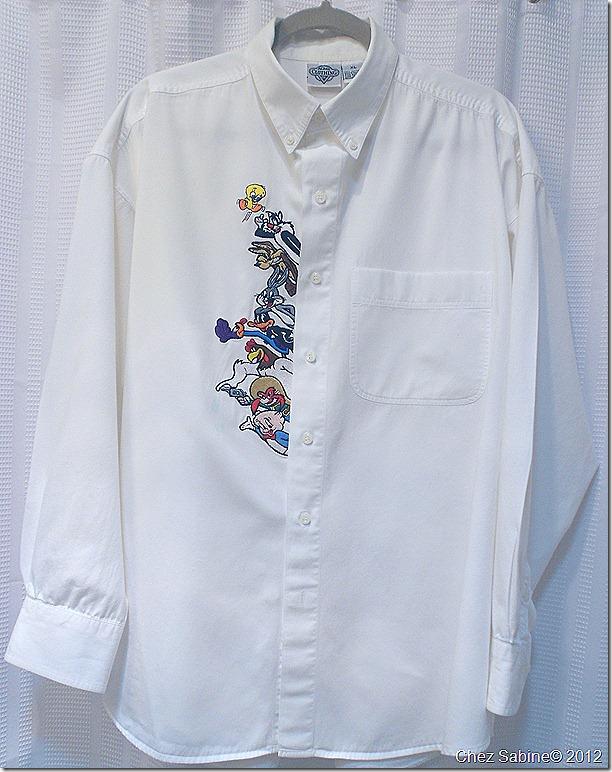 Ironing a shirt 201