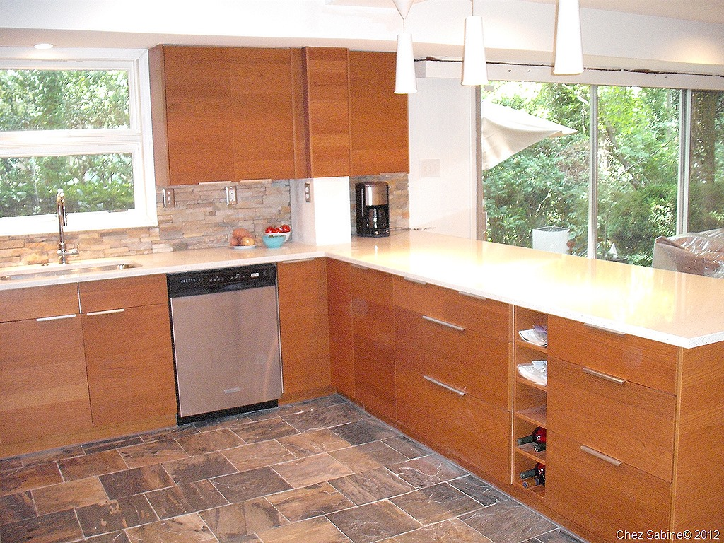 This Kitchen Is Totally In Keeping With The 50s 60s Look Of This Home