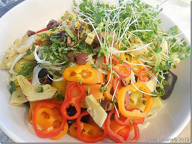Salmon pasta salad 060