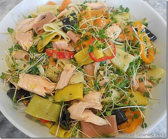 Salmon pasta salad 065