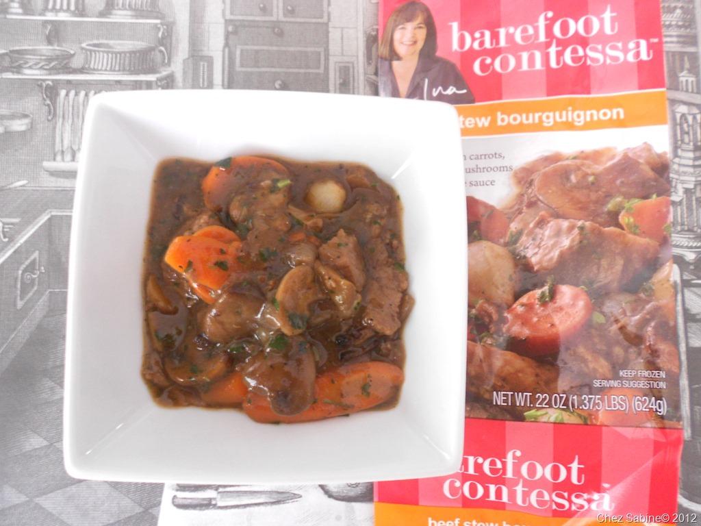 Beef Stew Ina Garten review: barefoot contessa frozen beef stew bourguignon   chez sabine